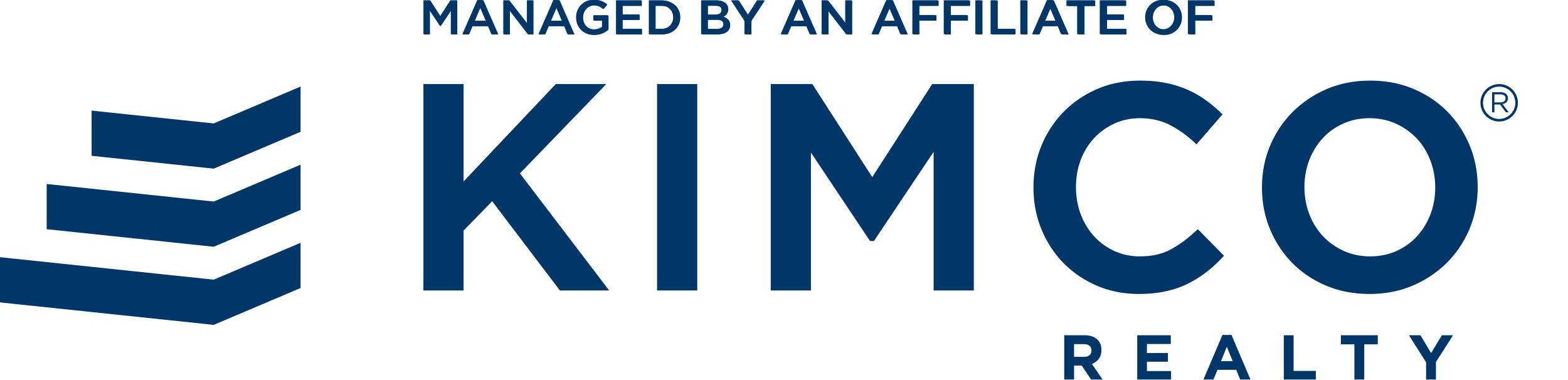 Managed by an Affiliate of Kimco Realty